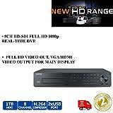 Samsung srd-880d 8Kanal HD-SDI-Hybrid DVR Full HD 1TB 1080P Echtzeit Recorder
