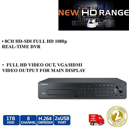 Samsung srd-880d 8Kanal HD-SDI-Hybrid DVR Full HD 1TB 1080P Echtzeit Recorder Samsung Hd-dvrs