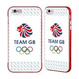 Official Team GB British Olympic Association Grid Logo Red Fender Case for iPhone 6 Plus/iPhone 6s Plus
