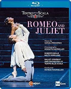 Sergei Prokofiev: Romeo & Juliet [Roberto Bolle; Misty Copeland; Antonino Sutera; Mick Zeni; Teatro alla Scala; Patrick Fournillier] [C Major Entertainment: 743604] [Edizione: Regno Unito]