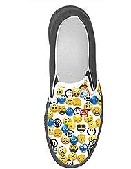 Dalliy Personalizado Dinosaurio Slip-en los zapatos de lona de las mujeres 6DnLOWW9g