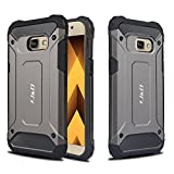 J&D Compatible pour Coque Samsung Galaxy A3 (2017 Version), [ArmorBox] [Double...