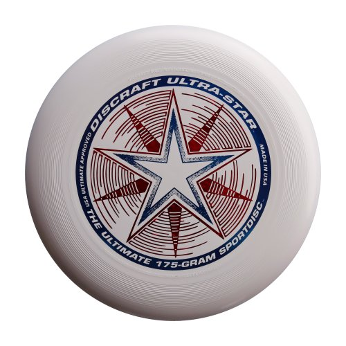 Discraft - Frisbee Ultrastar, 175 g, bianco
