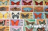 Prophila Collection Motive 200 verschiedene Schmetterlinge Marken (Briefmarken für Sammler) Schmetterlinge