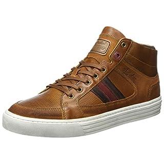 Australian Herren Flemming Leather Hohe Sneaker, Beige (Tan), 43 EU