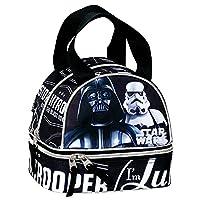 Star Wars Darth Vader and Stormtrooper Shadow School Lunch Bag (Black)