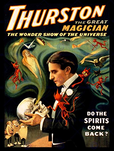 THURSTON MAGIC STAGE SHOW USA VINTAGE POSTER ART PRINT 12x16 inch 942PY (Art Show Poster)