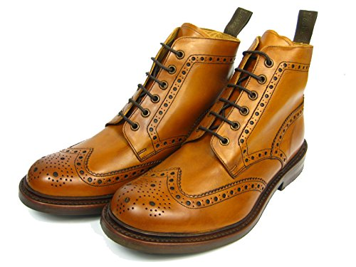 loake-bedale-brogue-stiefel-tan-gr-42