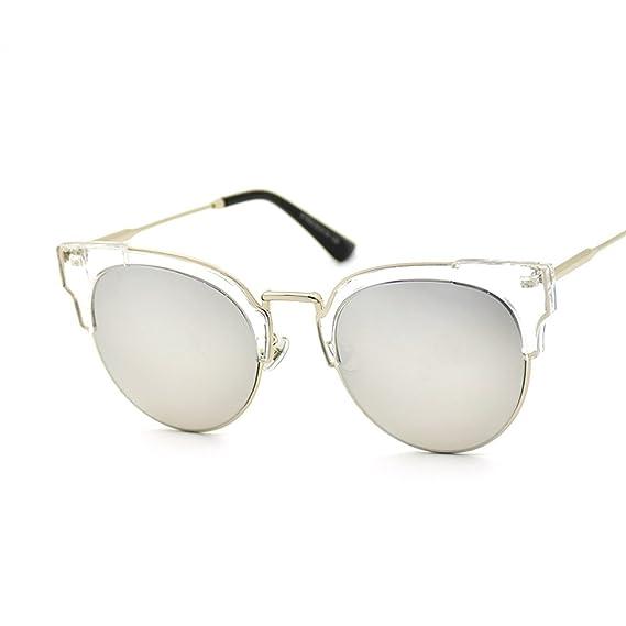 WKAIJC Retro Mode Persönlichkeit Bequem Anspruchsvoll Kreativ Mode Farbfilm Sonnenbrillen,C