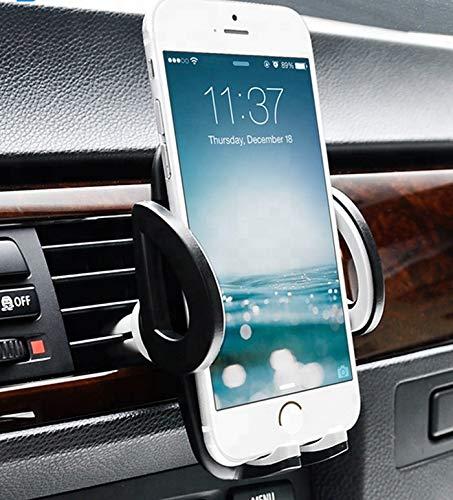 E & E Design Handy Halterung 2018 Neuheit aus den USA Universale Autohalterung für Handys Aller Art (iPhone, Samsung, Huawei, LG Etc.) Lüftungsschlitz KFZ