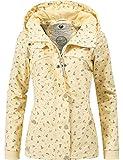 Ragwear Damen Outdoor Übergangs-Jacke Wasserdicht YM-Charlene Vanilla Gr. XL