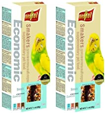 Vitapol Economic Smakers Supplementary Pet Food For Budgie - 60 gm (Pack of 2) By Pawsitively Pet Care