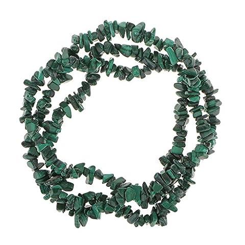 Naturel Malachite Puce Pierres Précieuses Perles En Vrac Volet 34