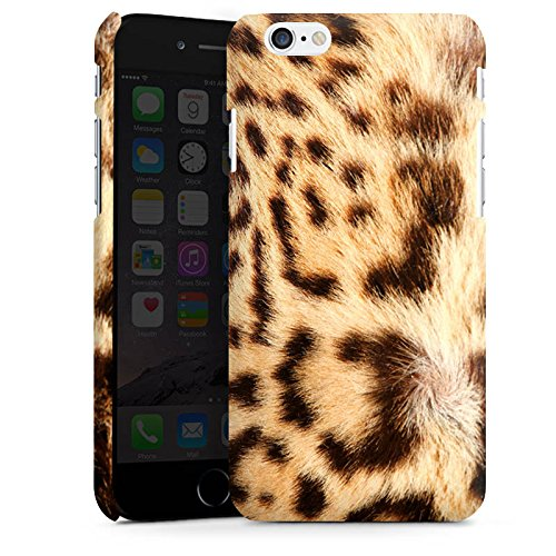 Apple iPhone X Silikon Hülle Case Schutzhülle Leopard Raubkatze Fell Premium Case matt