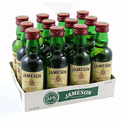 Jamesons Irish Whiskey 5cl Miniature - 12 Pack from Jameson