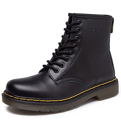 sitaile-unisex-erwachsene-bootsschuhe-derby-schnurhalbschuhe-kurzschaft-stiefel-winter-boots-fur-her