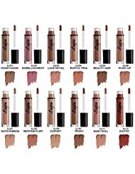 VWH 12 Couleurs Maquillage Waterproof a Levres Mat Liquide Beaute Brillant Rouge a Levres Lip Gloss Liquid Matte Longue Tenue Gloss Lipstick