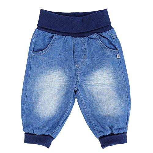 Jacky 372500 Pantaloni Jeans TEDDY, Azzurro Denim, Tg. 80