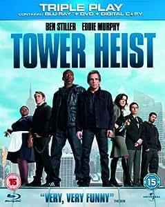 Tower Heist - Triple Play (Blu-ray + DVD + Digital Copy) [Region Free]