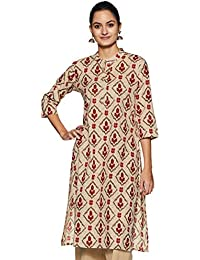 Aalia Women's cotton straight Kurta