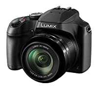 Panasonic DC-FZ82EB-K 60x Optical Zoom Lumix Digital Camera - Black