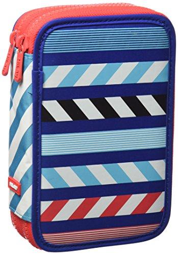 Milan 081264ACBR Anchor Club Estuches, 20 cm, Azul/Rojo