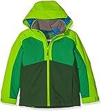 Ziener Kinder ABORO Jacket ski Skijacke, Forest Green stru, 164