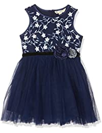 Uttam Boutique Girl's Icy Floral Embroidered Dress