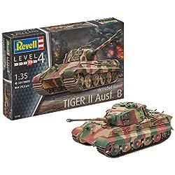 Revell- Maqueta II Ausf. B, King Tiger, con Henschel Tower, Kit Modelo, Escala 1:35 (03249)