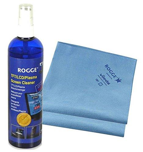 ROGGE DUO-Clean Original Set, 250ml Bildschirmreiniger + 2 Prof. Microfasertücher powered by Vileda Professional in Kooperation mit ROGGE InterTrade (1)