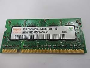 Hynix HYMP112S64CP6-S6 AB PC2-6400S-666-12 ID10919 Mémoire vive pour Notebook 1 Go