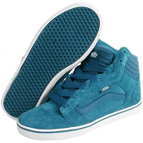 Vans skateboard shoes Amberton Hi Blue - Sneaker Skate Shoes, shoe size:36;colore (scarpe):Blue