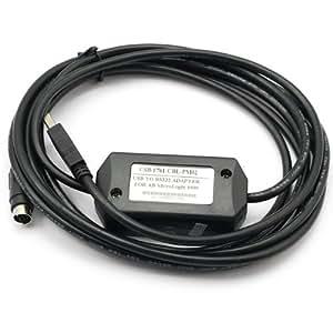 SainSmart ® USB-1761-CBL-PM02 contrôle Câble USB vers RS232 pour Allen Bradley AB MicroLonix PLC