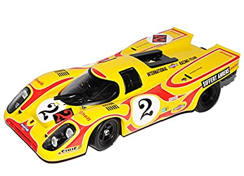 Porsche 917K Coupe Gelb Team AAW Martini Racing Siffert Ahrens Nr21 9h Kyalami 1970 1/18 Norev Modell