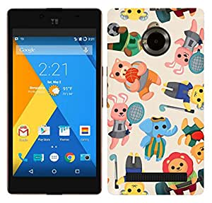 WOW 3D Printed Designer Mobile Case Back Cover For Micromax Yu Yuphoria