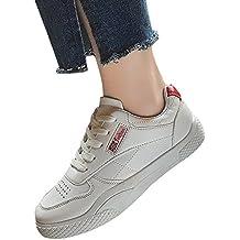 JERFER Moda Casual Scarpe E Scarpe da Ginnastica Scarpe Piatte Tinta Unita  Scarpe Casual Scarpe da b695ecbb47c