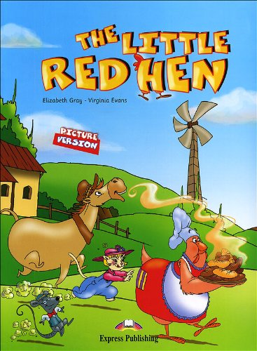 The little red hen. Con CD Audio. Con DVD-ROM