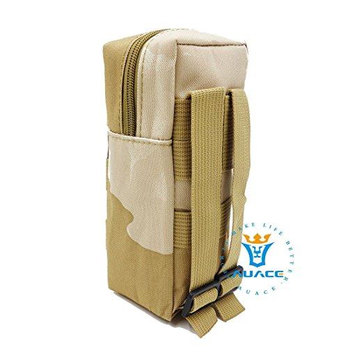 Multifunzione sopravvivenza Gear tattico Sacca Molle Pouch bottiglia pacchetto, campeggio portatile Borse da viaggio Borse Strumento Borsa marsupio per Pouch, MC DCU