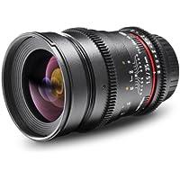 Walimex Pro 35mm 1:1,5 VCSC Foto und Videoobjektiv für Sony E Objektivbajonett schwarz (manueller Fokus, für Vollformat Sensor gerechnet, Filterdurchmesser 77mm, stufenlose Blendeneinstellung)