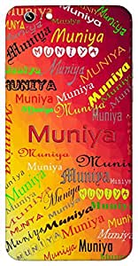 Muniya (name of a bird) Name & Sign Printed All over customize & Personalized!! Protective back cover for your Smart Phone : Apple iPhone 7