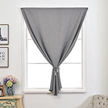 YAN Blackout Curtain Free Magic Curtains Velcro Screen Mesh Magic Stickers The Mosquito Household Living Room Bedroom High Denisity Curtain Sheers (Color : Gray, Size : 1.2x1.2M)