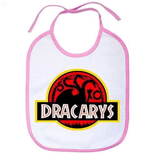 Babero Juego de Tronos Targaryen Dracarys Jurassic Park - Rosa