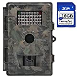 ZenNutt HD 12 MP Trail & Game Camera,1080P Waterproof Low Glow Infrared Night Vision Motion Activated Wildlife Hunting Cameras with 42pcs IR LEDs