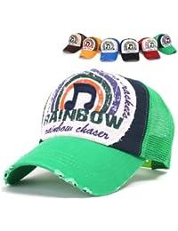 niki-orange® Rainbow Trucker Cap in verschiedenen Farben