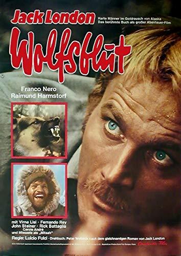 Wolfsblut (1974)   original Filmplakat, Poster [Din A1, 59 x 84 cm]