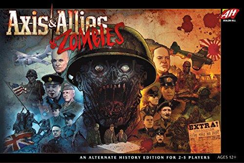 Avalon Hill WOCC5010 Axis & Allies Zombies, Mehrfarbig