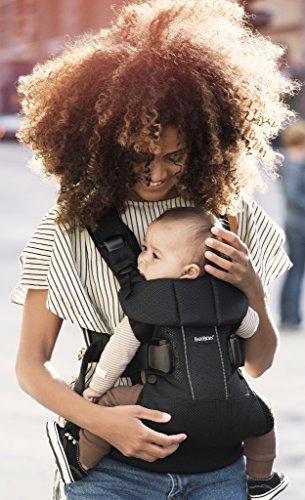 Porte-bébé BabyBjorn One Air, Noir, Mesh