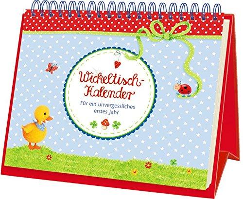 Preisvergleich Produktbild BabyGlück - Wickeltisch-Kalender: Für ein unvergessliches erstes Jahr