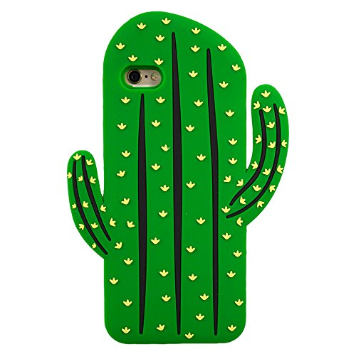 Forme Cactus Caoutchouc souple en silicone pour iPhone 6, 6s Nouveau Cartoon Design © Sloth Cases