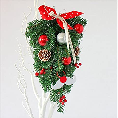 G&M Natale in rattan 45 centimetri tela